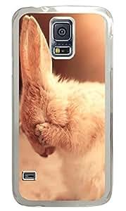 Brian114 Samsung Galaxy S5 Case, S5 Case - Fashion Crystal Clear Hard Case for Samsung Galaxy S5 Dont Look At Me 2 Waterproof Back Hard Case for Samsung Galaxy S5 I9600
