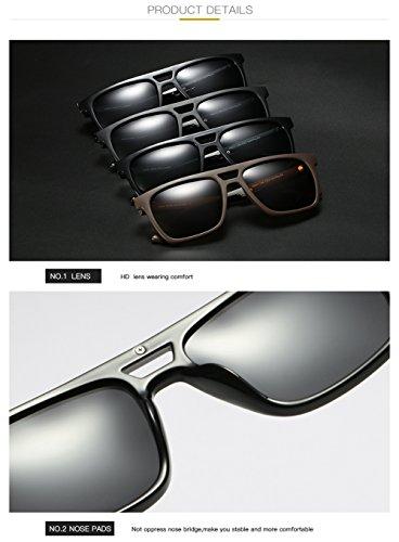 C2 UV De Aviator Polarizadas Sol C3 para para Gafas 400 Mujer Protección Hombre H4zPq1Fwn