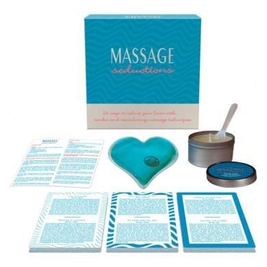 New - Massage Seductions Kheper Games - Seduction Kit