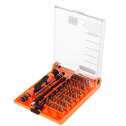 Signstek 45 in 1 Professional Portable Opening Precision Screwdriver Hand Tools Kit Set - Precision Tool Set