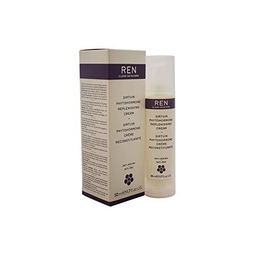 REN Sirtuin Phytohormone Replenishing Anti-Ageing Cream Cream For Unisex 1.7 oz (Phytohormone Replenishing Sirtuin Cream Ren)
