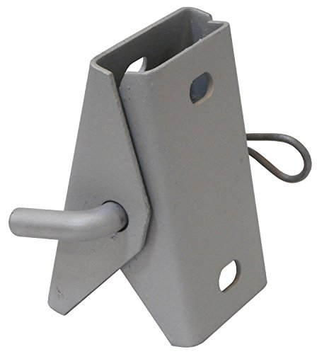 Dock Edge Stationary Dock 7/16-Inch Punch 2 Hole Galvanized Connector Hinge, - Stationary Dock