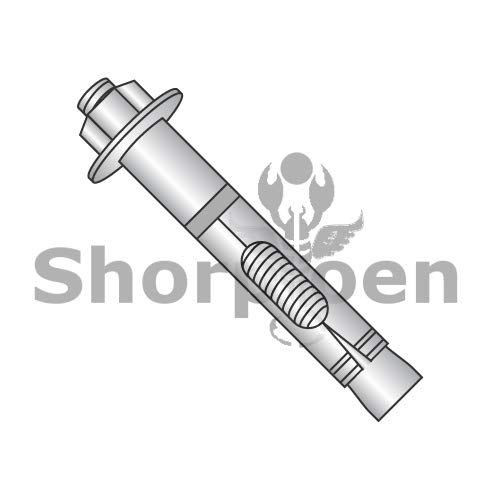 SHORPIOEN Hex nut Sleeve Anchor 18 8 Stainless Steel 3/8 x 3 BC-3748ASLH188 (Box of 50)