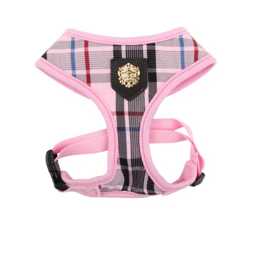 Puppia Authentic Junior Harness A, Small, Pink, My Pet Supplies