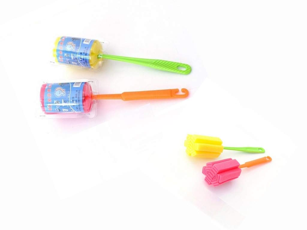 Saying 1 PC Kitchen Cleaning Tool Sponge Brush for Wineglass Bottle Coffe Tea Glass Cup