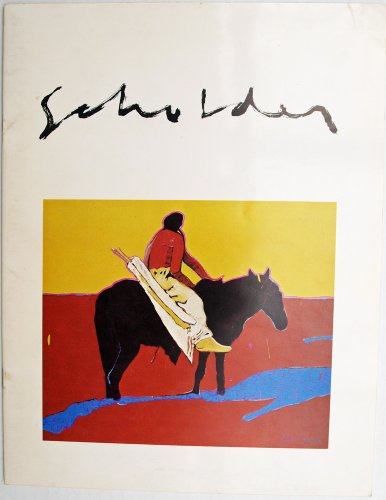 Native American Lithographs - Scholder paintings drawings lithographs etchings bronzes August 3 - 23 1975 The Jamison Galleries Santa Fe