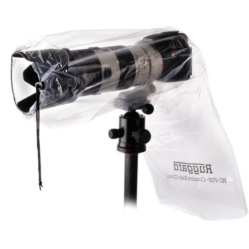 Ruggard RC-P18'' Rain Cover for DSLR with Lens up to 18'' (Pack of 2) by Ruggard