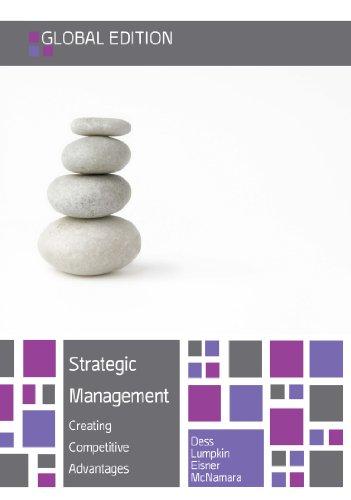 Strategic Management By Dess Lumpkin And Eisner Pdf