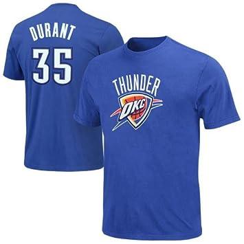 Majestic NBA OKLAHOMA CITY THUNDER Kevin Durant nombre & número camiseta, hombre, MA92-