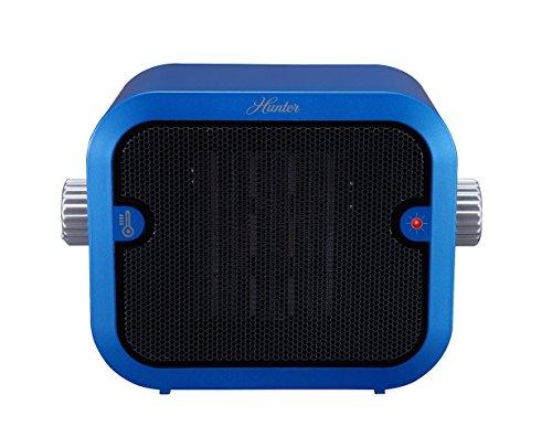 Hunter PC-003BU Retro Ceramic Space Heater (Blue) | amzn_product_post Blue Ceramic Ceramic Heaters Heater Hunter Hunter Home Comfort Space