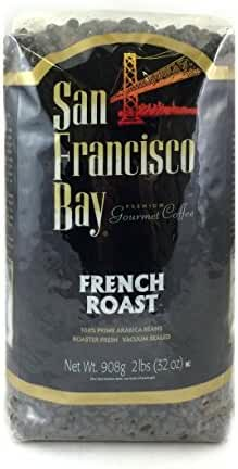 San Francisco Bay Coffee, French Roast- Whole Bean, 2-Pound (32 oz.)