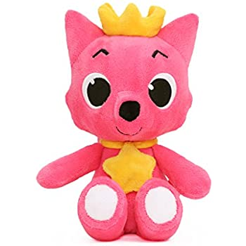 Amazon Com Pinkfong Stuffed Plush Doll Pink 12 Quot Toys