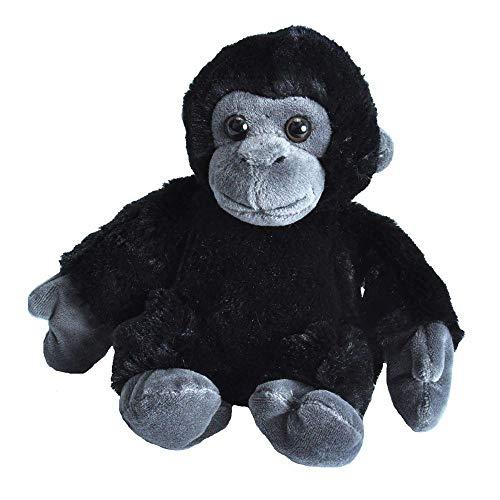 Gorilla Stuffed Animal (Wild Republic Gorilla Plush, Stuffed Animal Toy, Gifts for Kids, Hug'Ems)