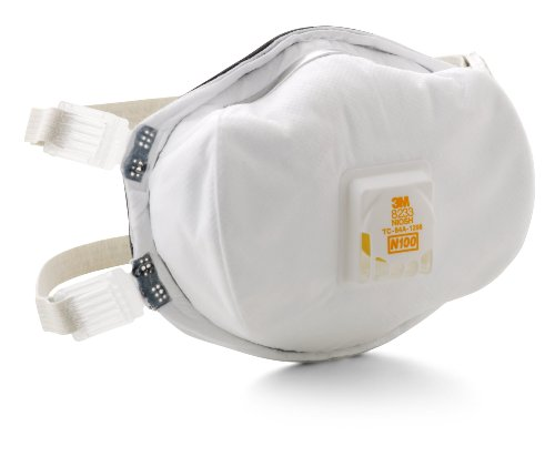 3M 8233PA1-A-PS Lead Paint Removal Valved Respirator by 3M (Image #3)