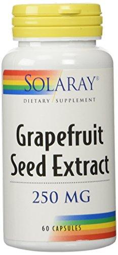 Solaray Grapefruit Seed Extract, 60 Caps 250 mg