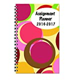 House of Doolittle 2016-2017 Weekly Academic Planner Assignment Book, Bubbles Cover, 5x8-Inch (HOD274RTG59-17)
