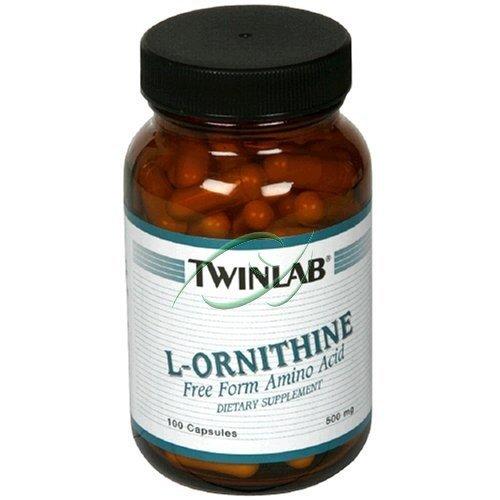 L Ornithine, 100 capsules, De Twinlab