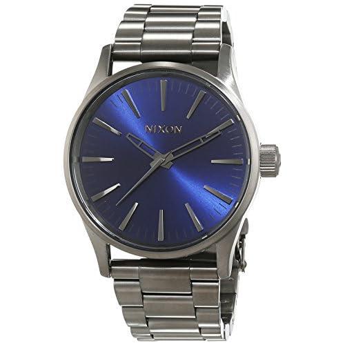 chollos oferta descuentos barato Nixon Reloj Analógico para Mujer de Cuarzo con Correa en Acero Inoxidable A450 2065 00