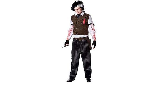 Generique - Disfraz barbero Asesino Halloween - M: Amazon.es: Juguetes y juegos
