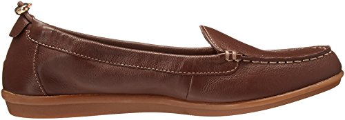 Hush Puppies Womens Endless Wink Flat Chocolate Leather FR53t6LC9