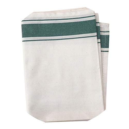 Soft Cotton Mix Practice Box Clean Multipurpose Towels Large Kitchen Cleaning Cloth Super Absorbent Easy Wash Cloths,Verde
