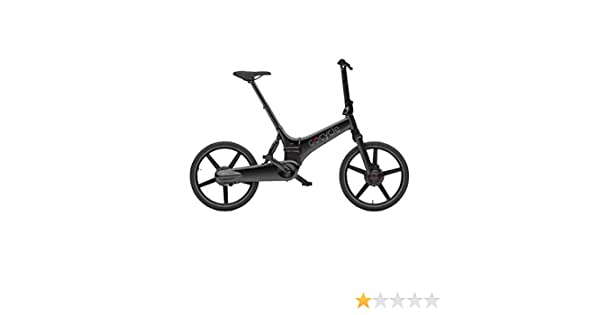 Gocycle GX - Bicicleta eléctrica Plegable, Color Negro Mate: Amazon.es: Electrónica