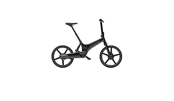 Gocycle GX - Bicicleta eléctrica Plegable, Color Negro Mate ...