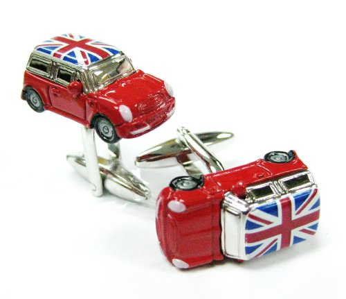 tailor-b-red-mini-cooper-with-union-jack-flag-cufflinks-car-gemelos-no-box-230169-1-nb