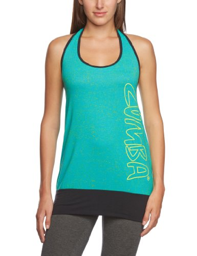 Zumba Fitness Women's Houston-We Have a Halter Top, Marine, X-Small/Small