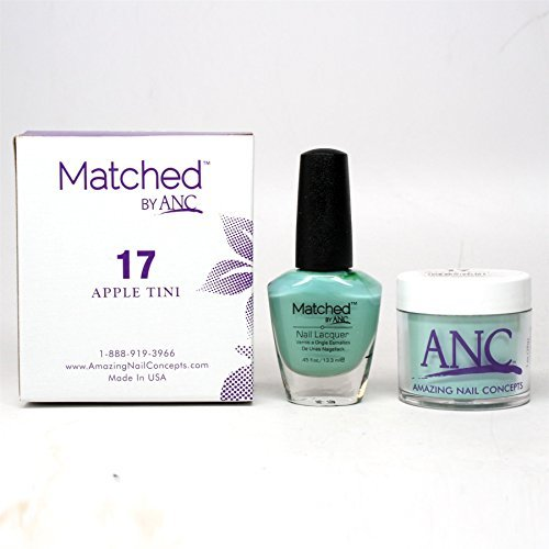 ANC Amazing Nail Concepts Matched kit # 17 Apple Tini](Apple Tini)