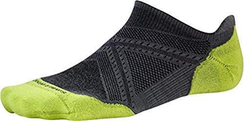 Smartwool PhD Run Light Elite Micro Performance Socks, Graphite, Large ()