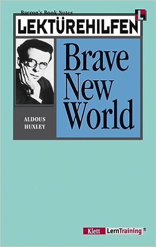 Book Lektürehilfen Huxley Brave New World. (Lernmaterialien)