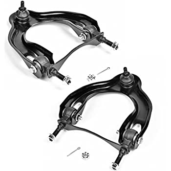 TUCAREST 2Pcs K90448 K90449 Left Right Front Upper Control Arm and Ball Joint Assembly Compatible 1994-2001 Acura Integra 92-95 Honda Civic 93-97 Civic del Sol Driver Passenger Side Suspension