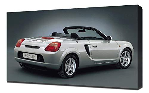 (Lilarama USA 1999-Toyota-MR2-Roadster-V4 Canvas Art Print - Wall Art - Canvas Wrap)