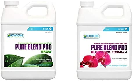 Botanicare Nutrients for soil - Vegetative & Flowering stage