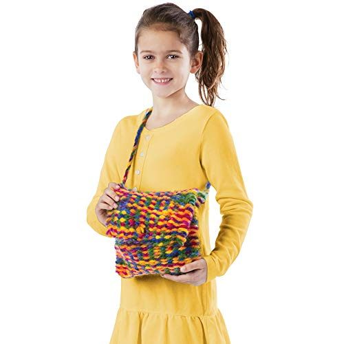 "41qhxd8TfkL - Melissa & Doug Wooden Multi-Craft Weaving Loom, Arts & Crafts, Extra-Large Frame, Develops Creativity and Motor Skills, 16.5"" H x 22.75"" W x 9.5"" L"