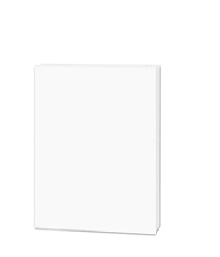 Pack of 120 Foam Boards (9x12in, 3/16in White)