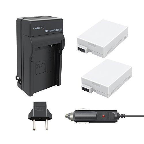LP E8 Battery Charger-TURPOW Canon LP-E8  1800mAh Power Batt