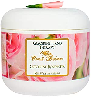 product image for Camille Beckman Glycerine Hand Therapy Cream, Glycerine Rosewater, 8 Ounce