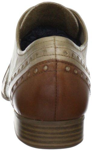 23201 2 Para De Marrón Cuero Cordones 356 Tozzi pepper Marco Mujer Zapatos 2 20 braun Antic Comb EBtgzwq