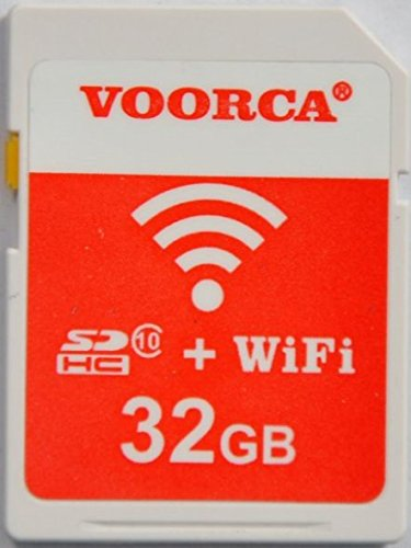 VOORCA 32 GB Wireless Wifi Class 10 Wifi SD Memory Card For