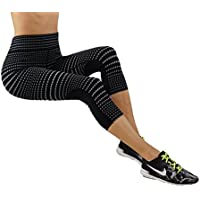 Pro Fit Yoga Pantalones de la mujer Ombre body-shaping de impresión Leggings