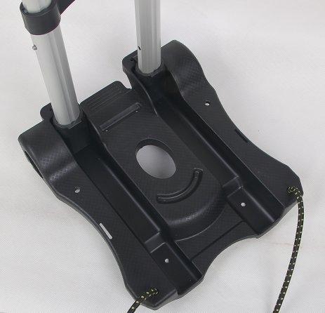 SavingPlus Heavy Duty Pliant /à la Main Diable Brouette Chariot Roue de Chariot Noir 35/kg Royaume-Uni