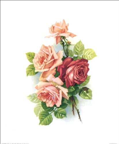 Flowers Paper Tole 3D Kit 8x10