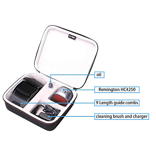 LTGEM Hard Travel Carrying Case for Remington HC4250 Shortcut Pro Self-Haircut Kit, Hair Clippers Hair Trimmers Clippers by LTGEM (Image #3)