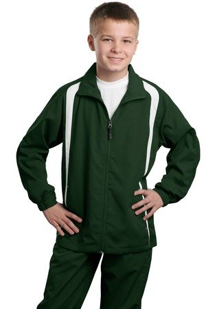 Sport-Tek Youth Colorblock Raglan Jacket