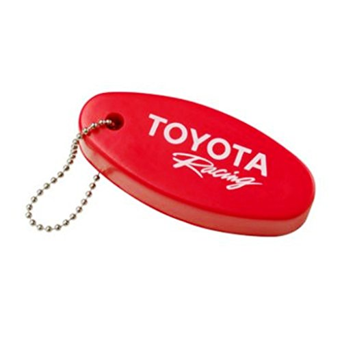 Officially Licensed Toyota Racing Red Floating Foam Key Chain Key Ring Keychain