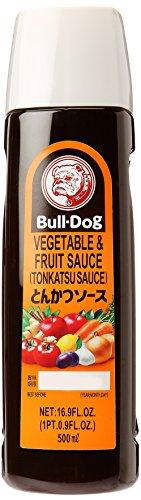 Bull-Dog Vegetable & Fruit Sauce, Tonkatsu Sauce, 16.6 (Bulldogs Hot Sauce)