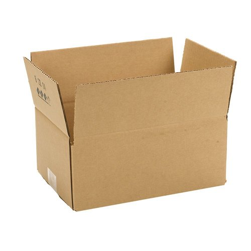 Duck Brand Brown Corrugated Shipping Boxes - 10 Pack (11.75
