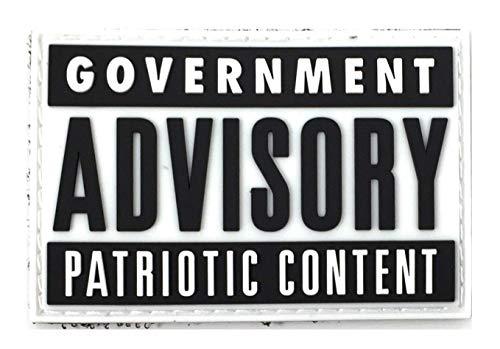 Patriot Patch Co - Government Advisory Patch